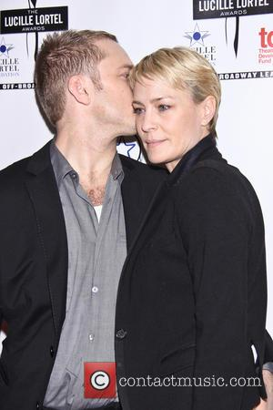 Ben Foster and Robin Wright - 28th Annual Lucille Lortel Awards - Arrivals - New York City, New York, United...