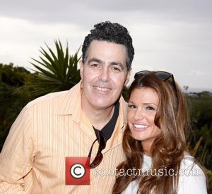 Adam Carolla and Lynette Corolla - Celebrities attend Adam and Lynette Carolla's Launch of Mangria White Peach and Pear at...