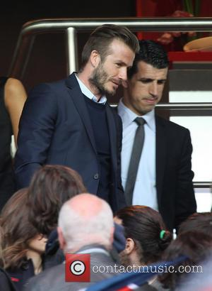 David Beckham Given Standing Ovation At Paris Soccer Game