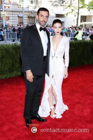 Rooney Mara and Riccardo Tisci