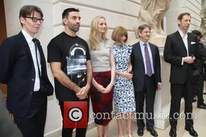 Andrew Bolton, Roberto Tisei, Lauren Santo Domingo, Anna Wintour and Nick Knight