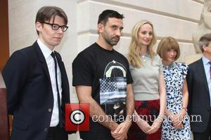 Andrew Bolton, Roberto Tisei, Lauren Santo Domingo and Anna Wintour