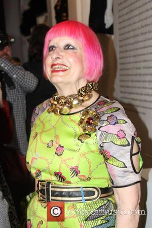 Zandra Rhodes - The Metropolitan Museum of Art press preview 'Punk: Chaos to Couture' - New York, NY, United States...