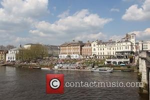 River Bank In Richmond and Atmosphere