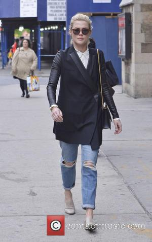 Rachael Taylor - Australian actress and model Rachael Taylor walking in the West Village - New York, NY, United States...