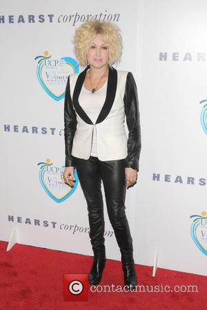 Cyndi Lauper - 12th Annual Women Who Care Luncheon benefiting United Cerebral Pasy of New York City at Cipriani -...