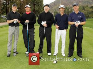 Kenny G and Team - The 6th Annual George Lopez Celebrity Golf Classic To Benefit The Lopez Foundation - Dinner...