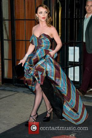 Christina Ricci - Celebrities leaving their hotels on their way to 'PUNK: Chaos to Couture' Costume Institute Gala at The...