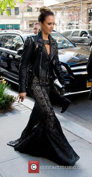 Jessica Alba - Celebrities leaving their hotels on their way to 'PUNK: Chaos to Couture' Costume Institute Gala at The...