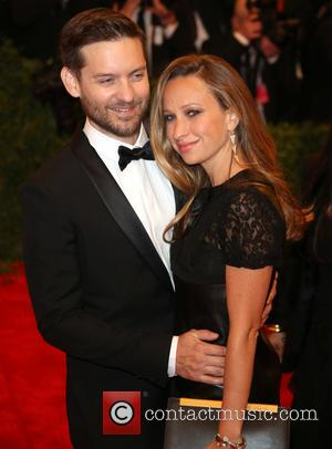 Tobey Maguire and Jennifer Meyer Maguire - 'PUNK: Chaos to Couture' Costume Institute Gala at The Metropolitan Museum of Art...