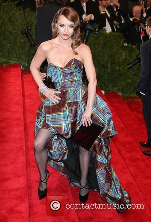 Christina Ricci - 'PUNK: Chaos to Couture' Costume Institute Gala at The Metropolitan Museum of Art - Arrivals - New...