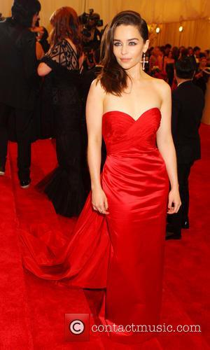 Emilia Clarke - 'PUNK: Chaos to Couture' Costume Institute Gala...