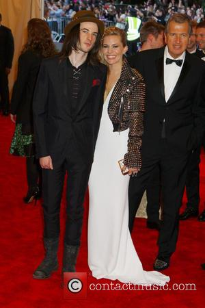Tom Sturridge and Sienna Miller - 'PUNK: Chaos to Couture' Costume Institute Gala at The Metropolitan Museum of Art -...