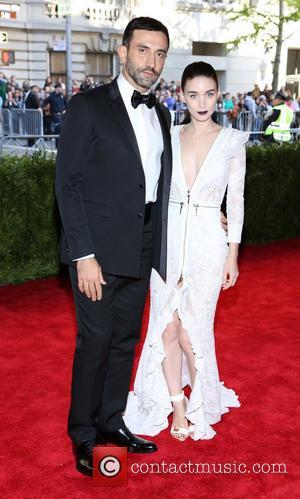 Riccardo Tisci and Rooney Mara