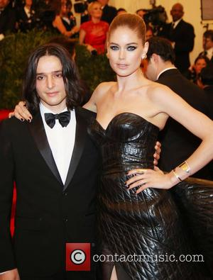 Doutzen Kroes and Olivier Theyskens - 'PUNK: Chaos to Couture' Costume Institute Gala at The Metropolitan Museum of Art -...