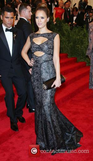 Jessica Alba - 'PUNK: Chaos to Couture' Costume Institute Gala at The Metropolitan Museum of Art - New York City,...