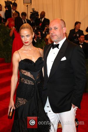 Carolyn Murphy and designer Peter Copping - 'PUNK: Chaos to Couture' Costume Institute Gala at The Metropolitan Museum of Art...