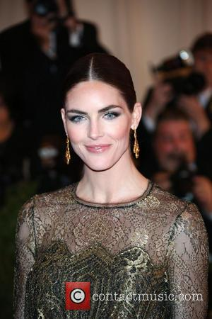 Hilary Rhoda - 'PUNK: Chaos to Couture' Costume Institute Gala at The Metropolitan Museum of Art - New York ,...