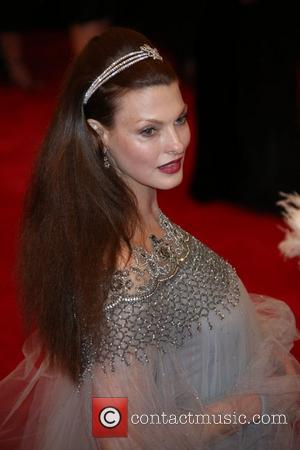 Linda Evangelista - 'PUNK: Chaos to Couture' Costume Institute Gala at The Metropolitan Museum of Art - New York City,...