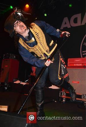 Adam Ant aka Stuart Leslie Goddard - Adam Ant performing at Vicar Street - Dublin, Ireland - Monday 6th May...