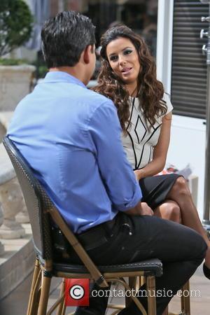 Eva Longoria and Mario Lopez