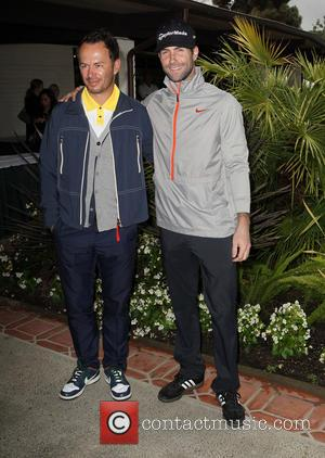 Greg Ellis and Adam Levine