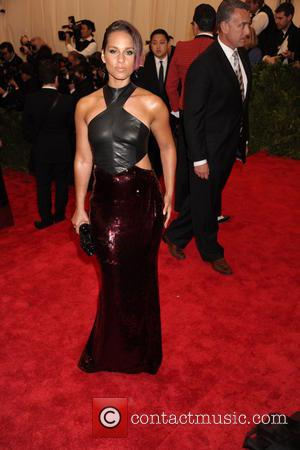 Alicia Keys - 'PUNK: Chaos to Couture' Costume Institute Gala...