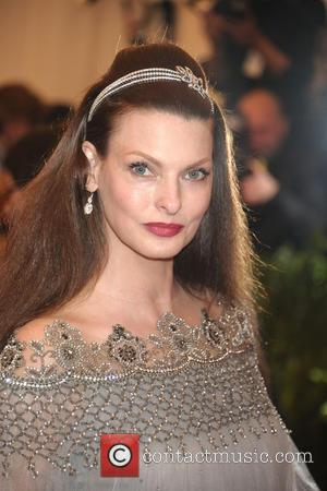 Linda Evangelista - 'PUNK: Chaos to Couture' Costume Institute Gala at The Metropolitan Museum of Art - Arrivals - New...