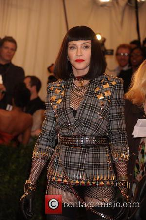 Madonna - 'PUNK: Chaos to Couture' Costume Institute Gala at The Metropolitan Museum of Art - Arrivals - New York,...