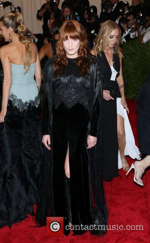 Florence Welch - 'PUNK: Chaos to Couture' Costume Institute Gala at The Metropolitan Museum of Art - New York City,...