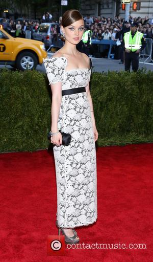 Bella Heathcote - 'PUNK: Chaos to Couture' Costume Institute Gala at The Metropolitan Museum of Art - New York City,...