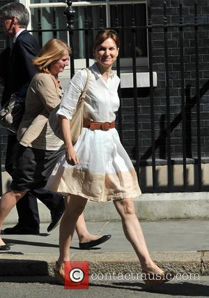Fiona Bruce - Ministers at 10 Downing Street for a Cabinet meeting - London, United Kingdom - Tuesday 7th May...