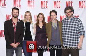 Fred Weller, Leslie Bibb, Jenna Fischer, Josh Hamilton and Neil LaBute - Press junket for MCC Theater's 'Reasons To Be...