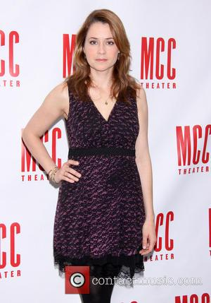 Jenna Fischer - Press junket for MCC Theater's 'Reasons To Be Happy' held at MTC Rehearsal Studios. - New York,...