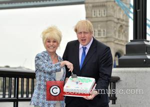 Boris Johnson and Barbara Windsor