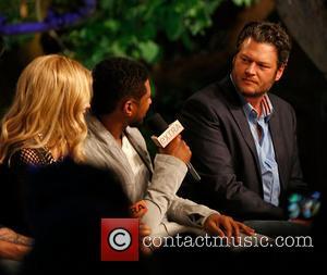 Shakira, Usher and Blake Shelton