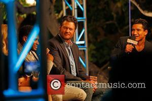 Usher, Blake Shelton and Mario Lopez