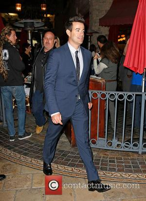 Carson Daly - The US coaches of the Voice at The Grove to appear on entertainment news show 'Extra' -...