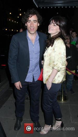 Stephen Mangan - Celebrities leaving the 'Passion Play' at the Duke of York Theatre - London, United Kingdom - Tuesday...