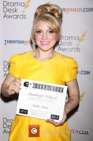 Annaleigh Ashford - The 2013 Drama Desk Award Nominee Luncheon held at the JW Marriott Essex House - New York,...