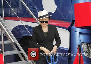 Yoko Ono - Yoko Ono at the Launch of the John Lennon Educational Tour Bus at the Museum of Liverpool...
