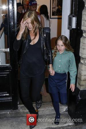 Kate Moss and Lila Grace