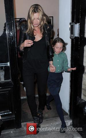 Kate Moss and Lila Grace Moss