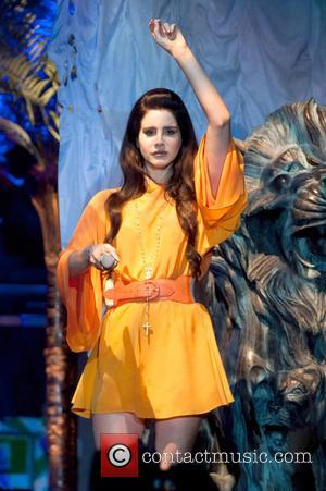 Lana Del Rey - Lana Del Rey performing at Forum Assago - Milan, Milan, Italy - Wednesday 8th May 2013