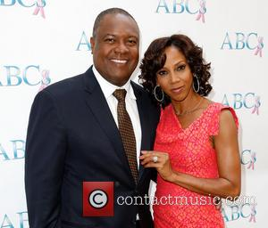 Rodney Peete and Holly Robinson Peete - ABC's Annual Mother's Day Luncheon - Arrivals - Los Angeles, CA, United States...