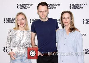 Sarah Goldberg, Christopher Denham and Lisa Emery