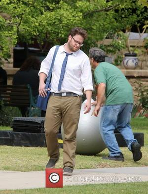 Seth Rogen - Actors on the set of 'Townies' - Los Angeles, California, United States - Wednesday 8th May 2013