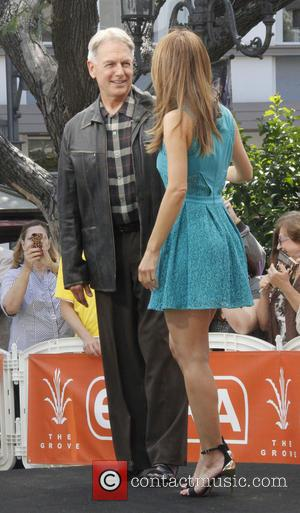 Mark Harmon and Maria Menounos
