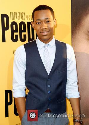 Tyler James Williams - Premiere of 'Peeples' presented by Lionsgate Film and Tyler Perry at ArcLight Hollywood - Hollywood, California,...