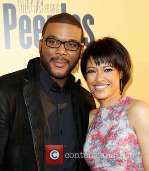 Tyler Perry and Tina Gordon Chism